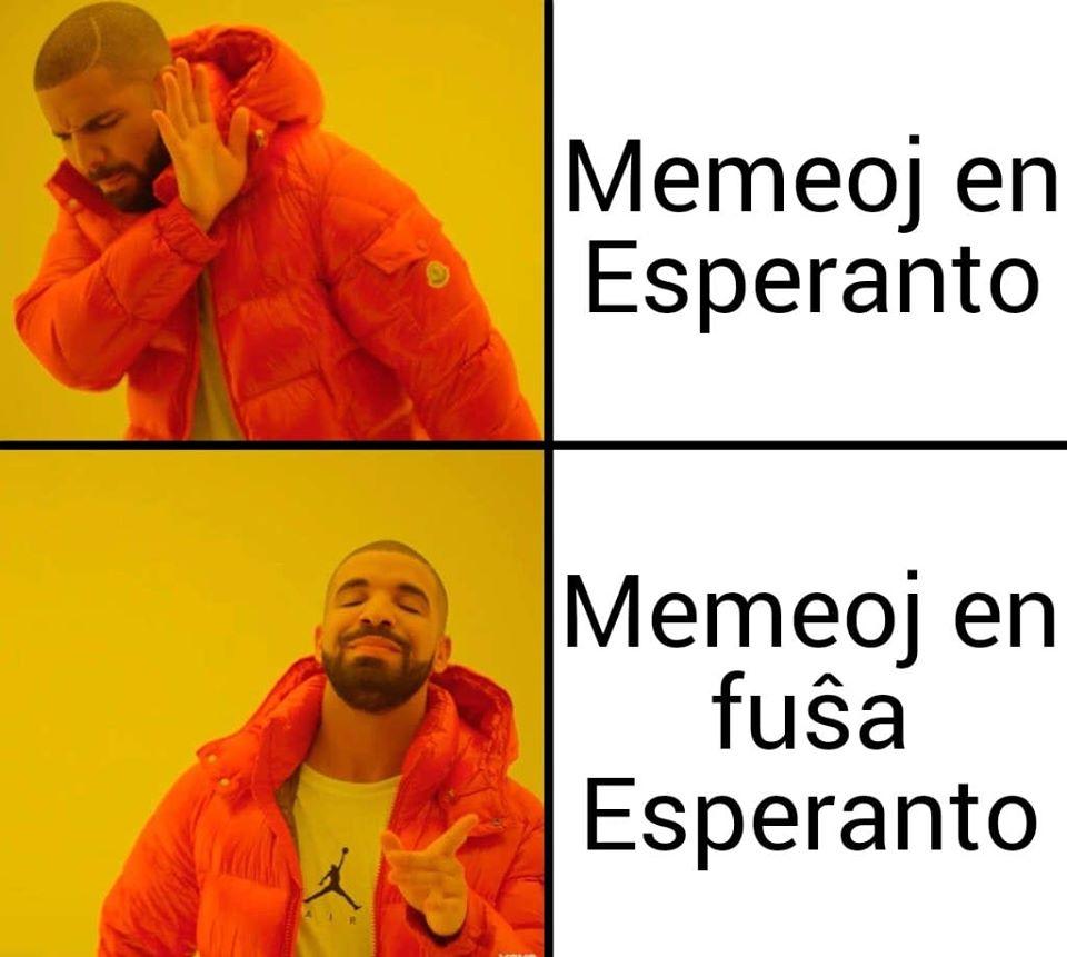 meme: Memeoj en Esperanto, Memeoj en fuŝa Esperanto